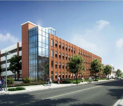 Biddeford parking garage concept graphic