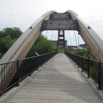 photo of houlton pedestrian bridge in houlton maine